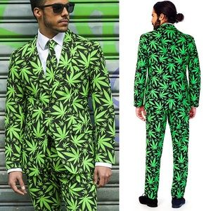 """Marihuana """"Cannaboss"""" Suit by Opposuits"""